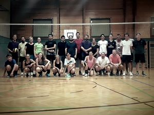 Trainingsstart Volleyball